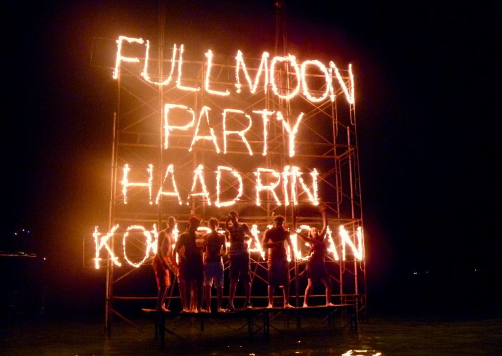 Full moon party_Koh Phangan Thailand