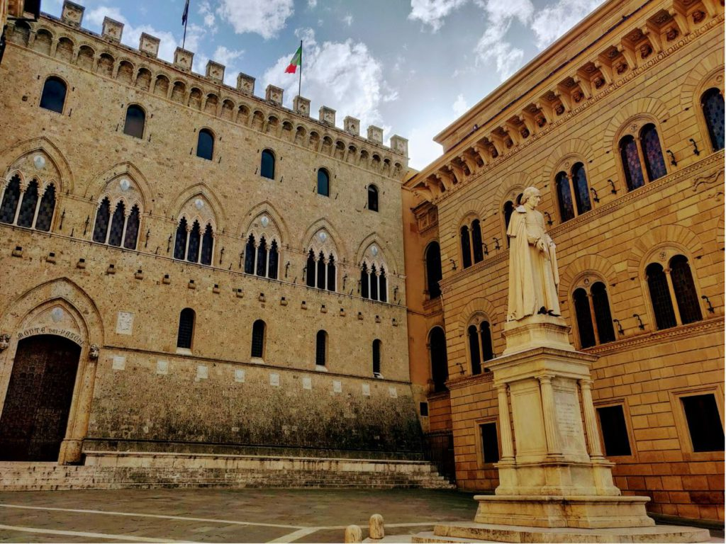 Banca Monte dei Paschi di Siena – First bank of the world