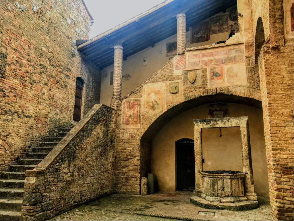building in St Gimignano