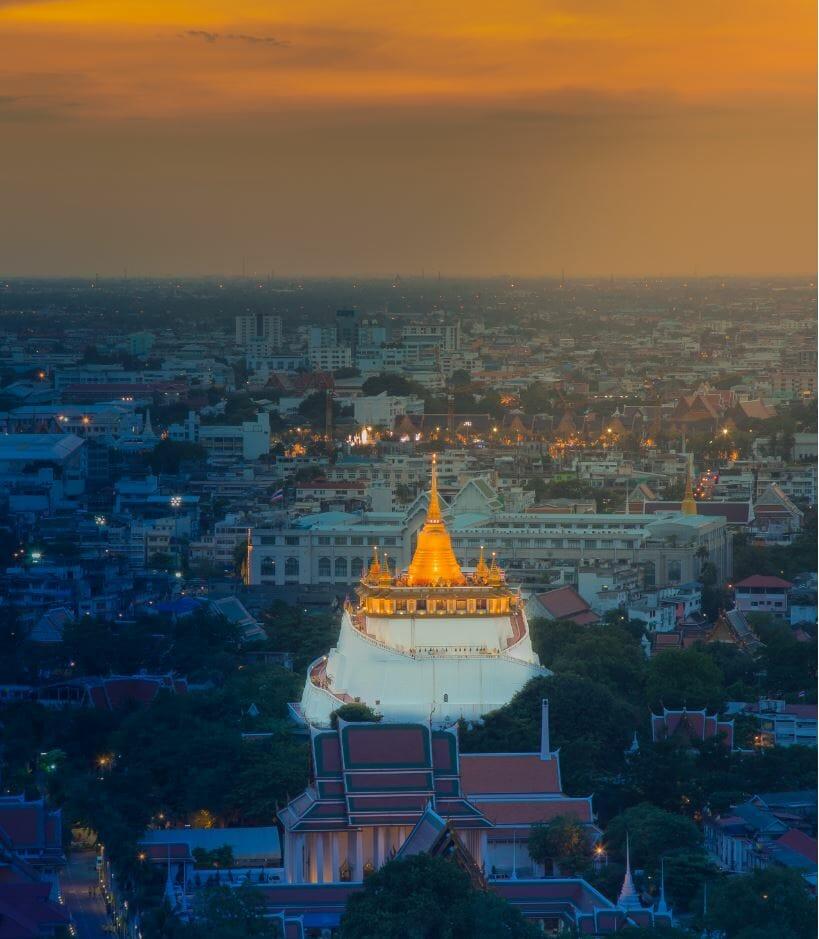 Wat Saket, Bangkok tourist attractions