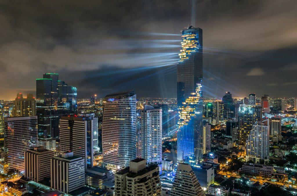 King Power Mahanakhon, the tallest building in Bangkok