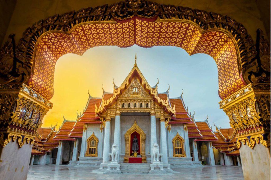 Wat Benchamabophit Bangkok tourist attractions