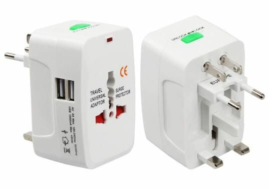 Travel Universal Adapter, what to pack for southeast asia