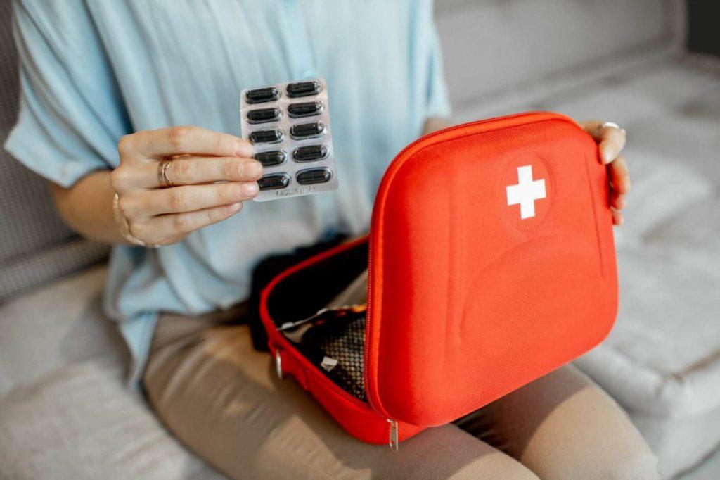 Medical kit for travel