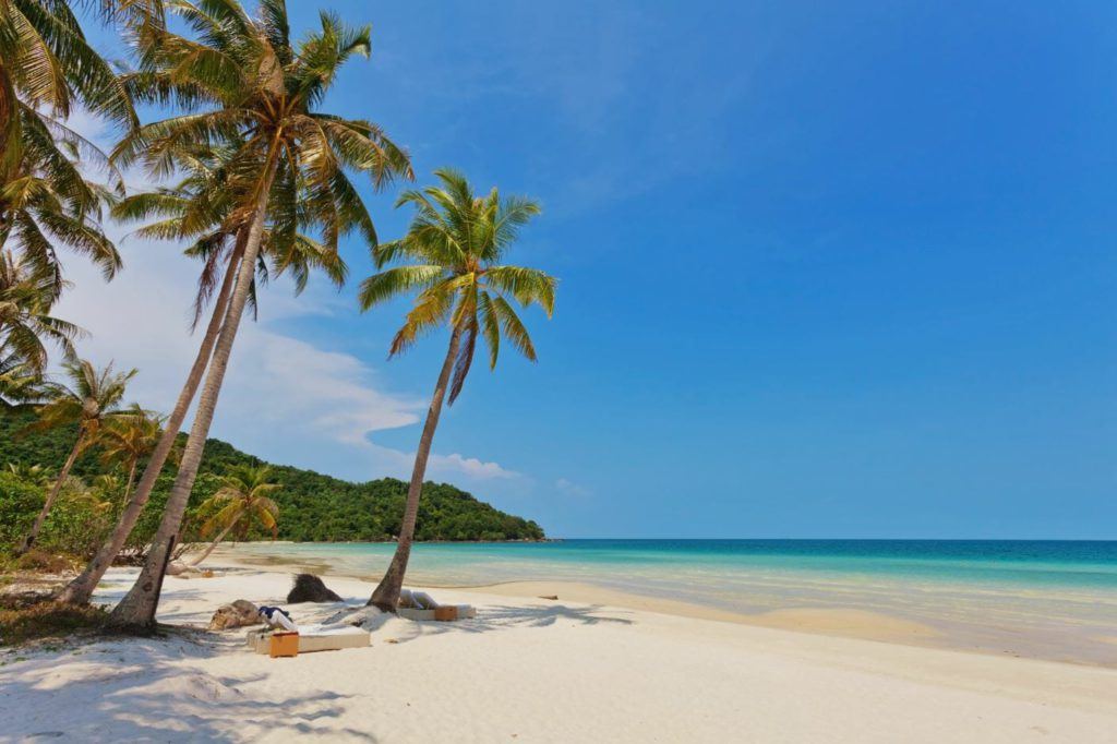 Beaches of South east Asia
