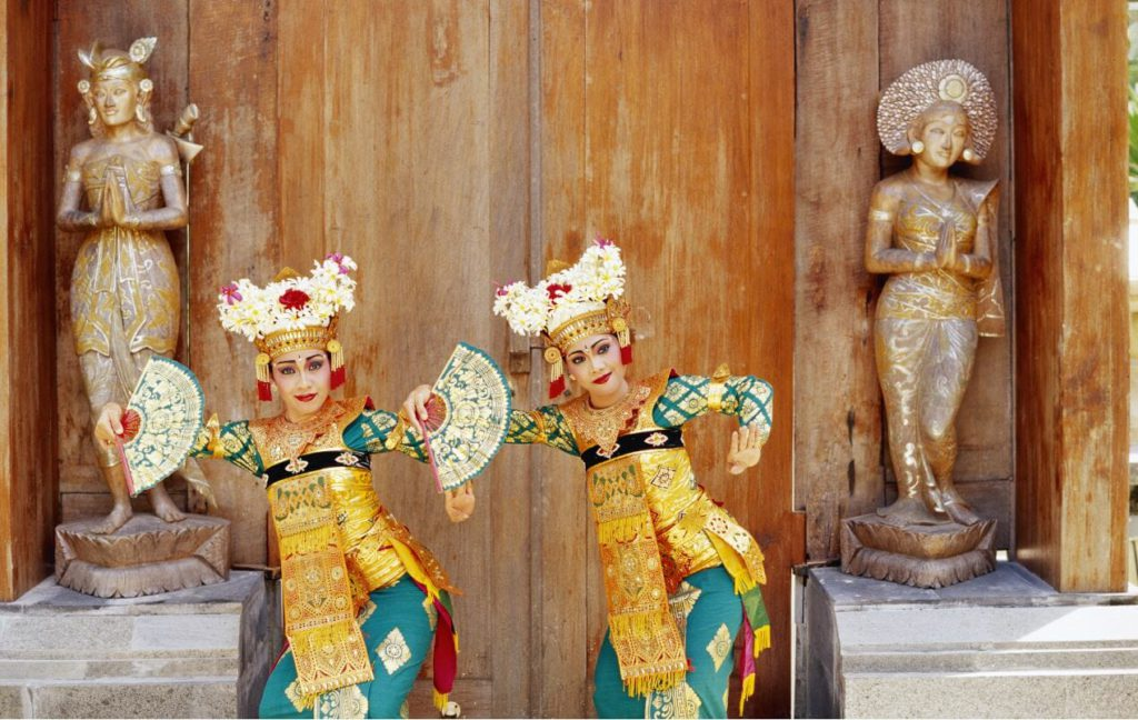 Dance performance from Indonesia