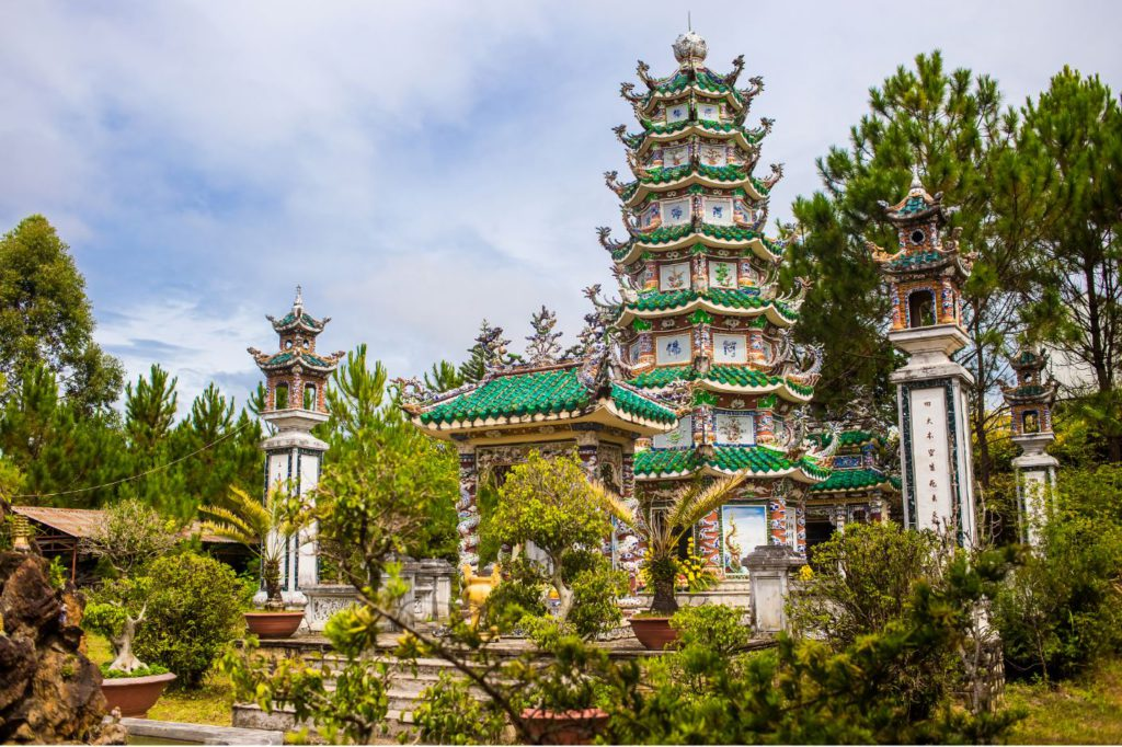 Linh Sonh Pagoda, Places to see in Da Lat