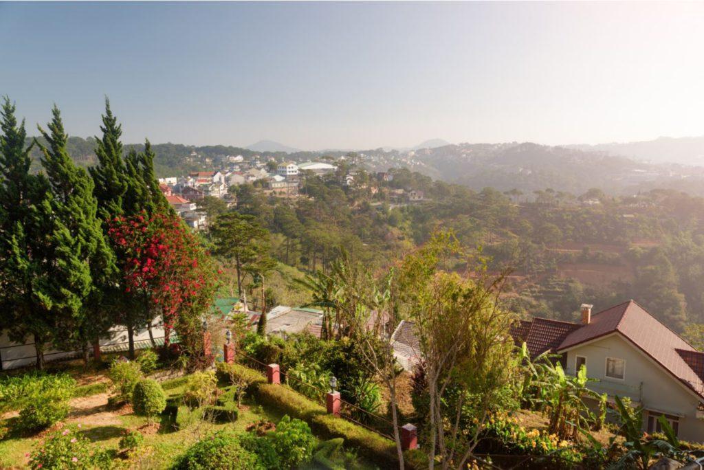 View of Da Lat Valleys