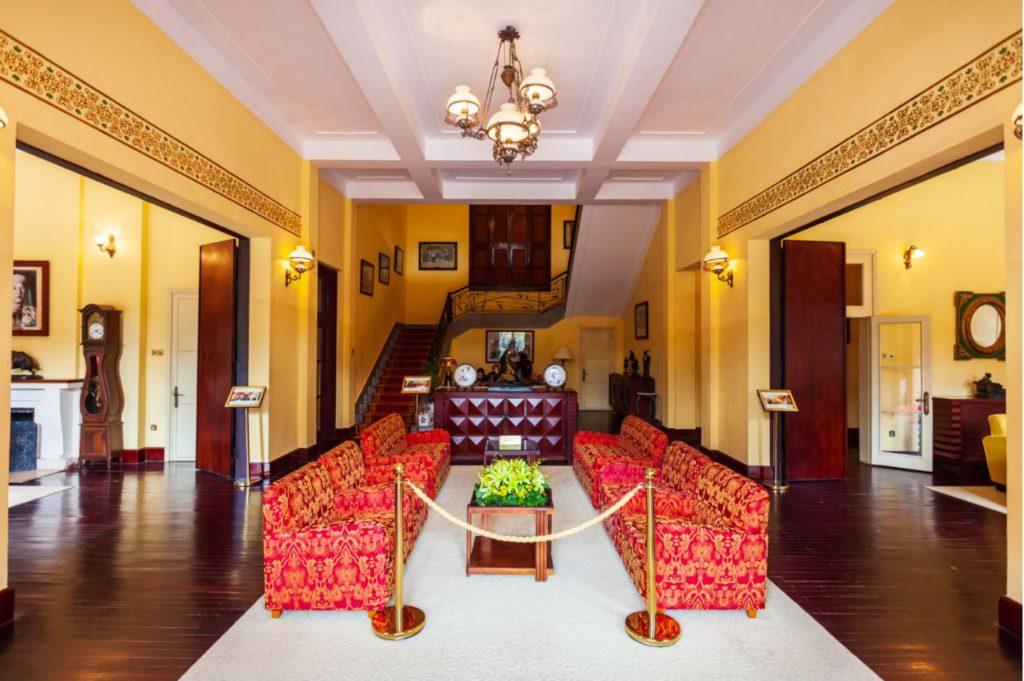 Interiors of Bao Dai Summer Palace