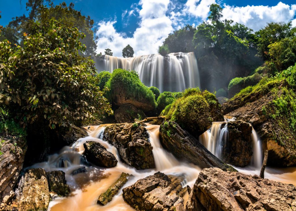 Elephant Waterfalls, Places to see in Da Lat