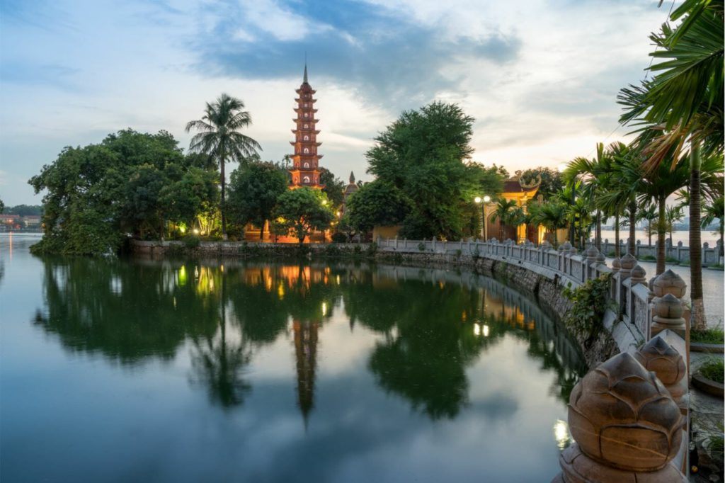 Hanoi, capital city of Vietnam