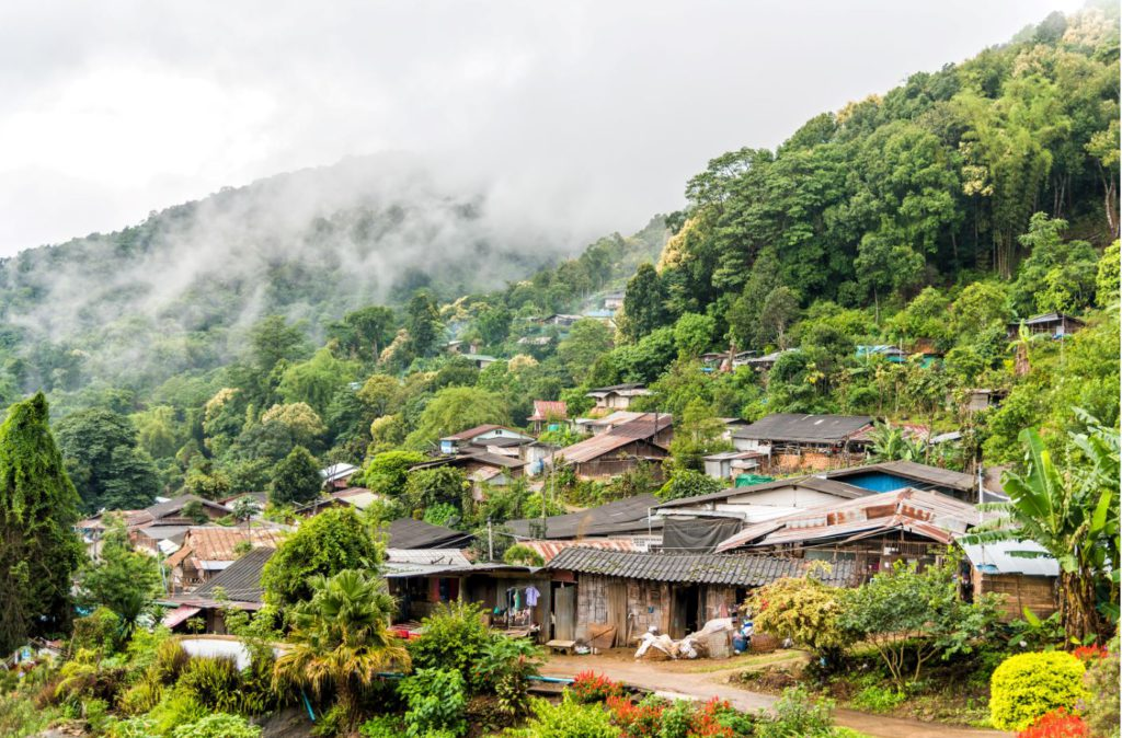 Hmong Village in Doi Suthep