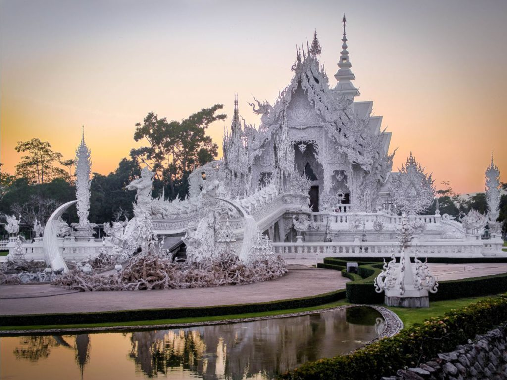 White Temple at Chiang Rai