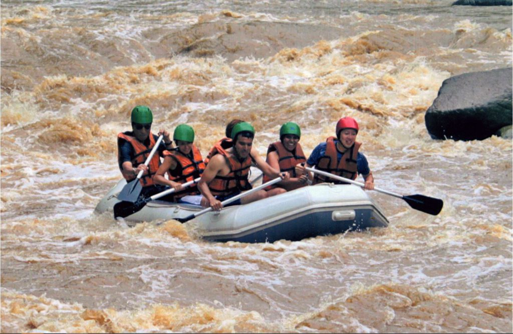 River rafting outside Chiang Mai