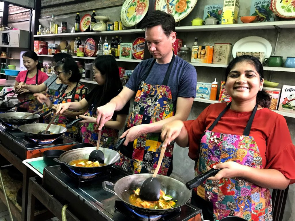 Experience of a Thai Cooking Class