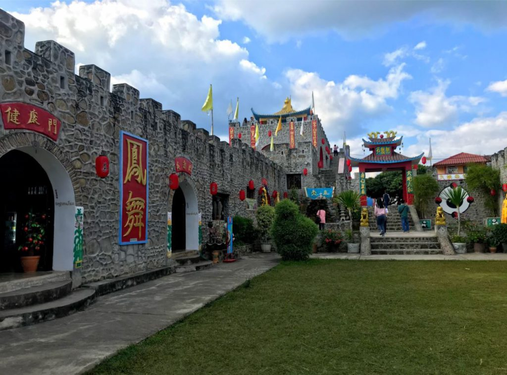 Fort Santichon in the Chinese Village in Pai
