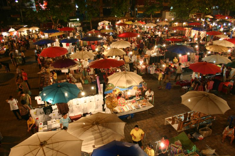 Sunday Night Market, Chiang Mai
