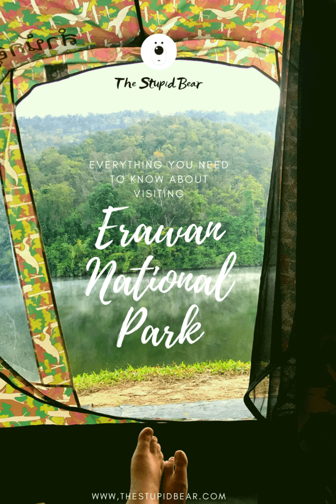 staying in Erawan national park