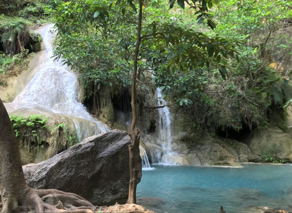 Sixth and Seventh level of Erawan Waterfalls
