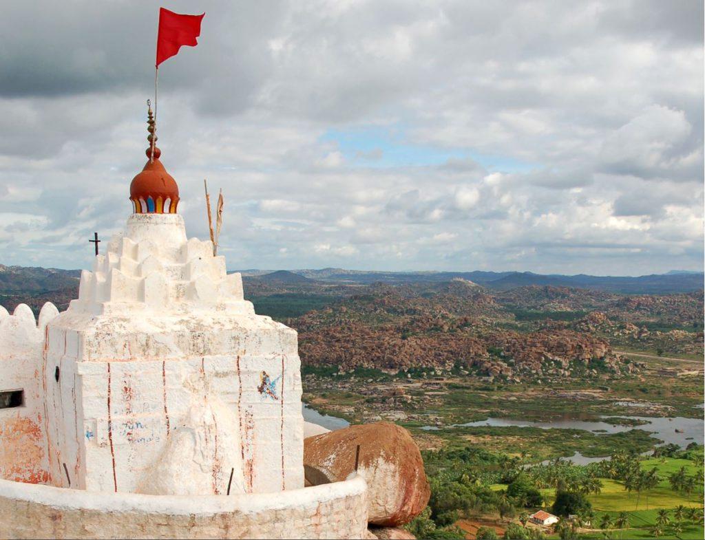 Hanuman temple in Anegundi