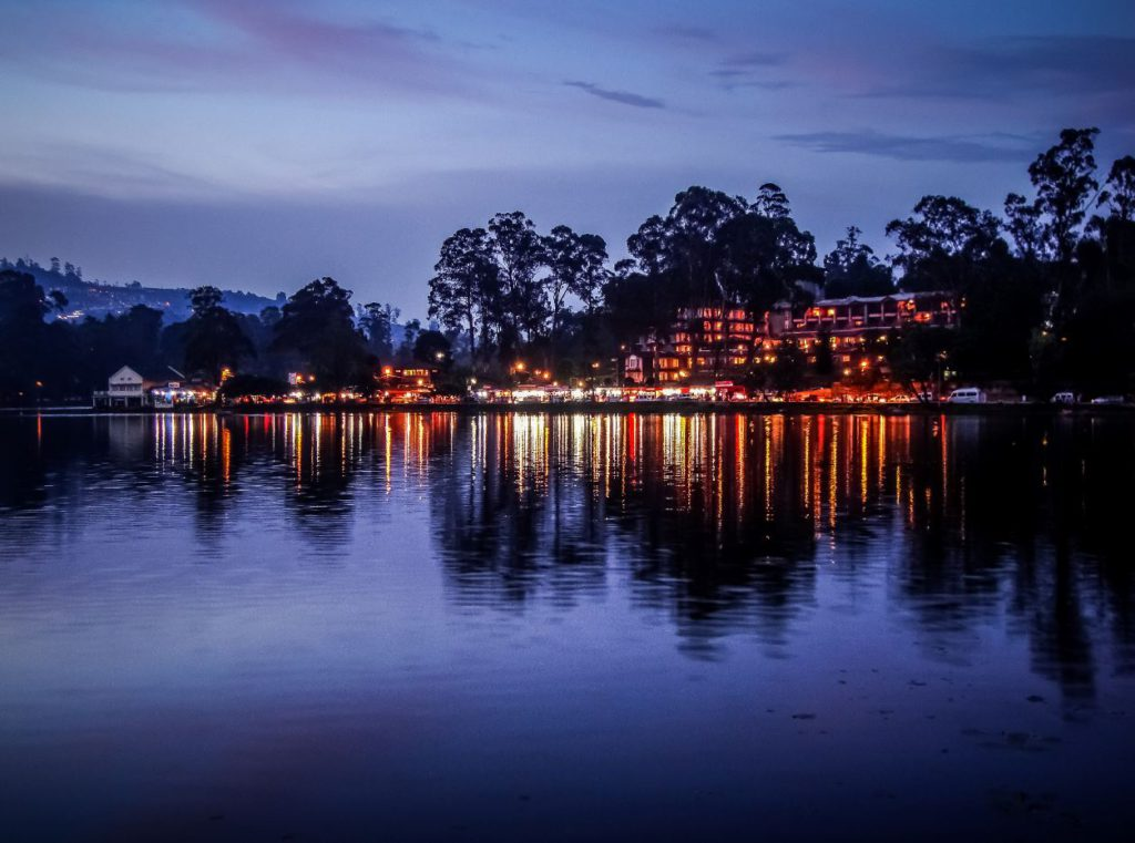 Night View near Kodai Lake