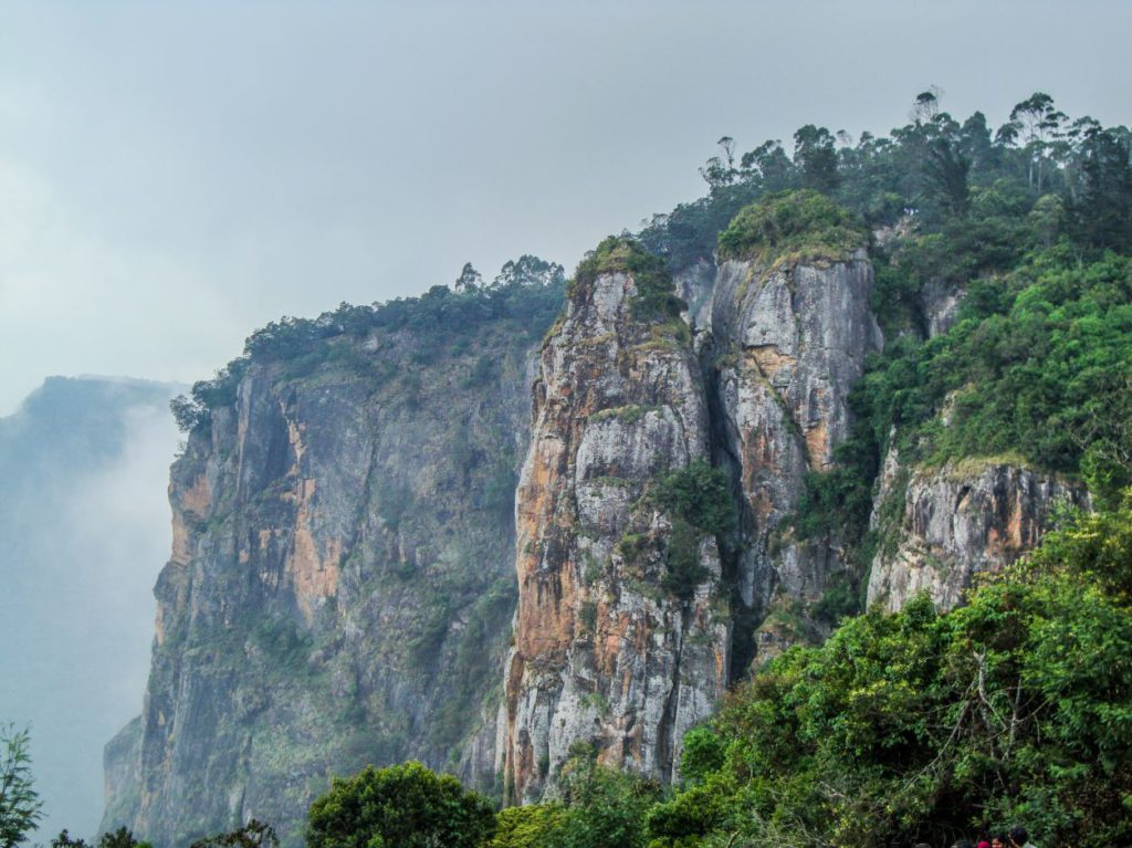 Pillar Rocks in Kodaikanal