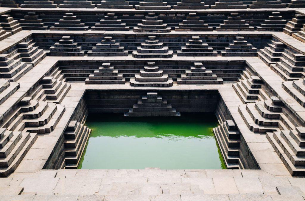 Public Bath Hampi ruins