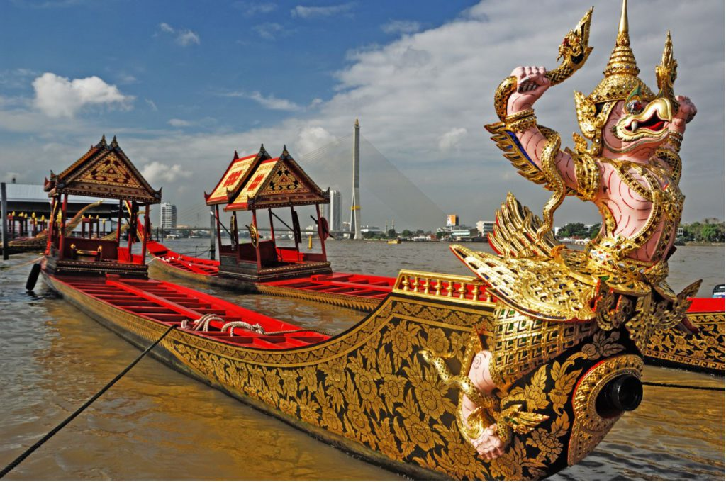 Royal Barges in Thailand