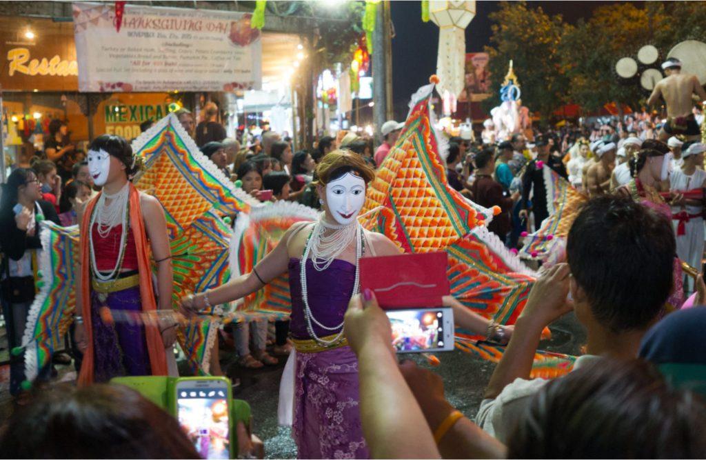 Street Dancing in Chiang Mai