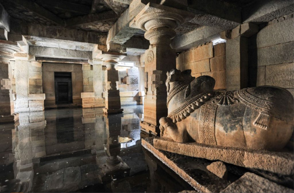 Underground Shiva Temple filled with water
