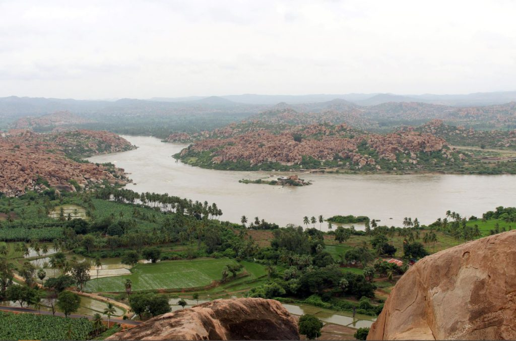 View from the top of Anjaneya Hill