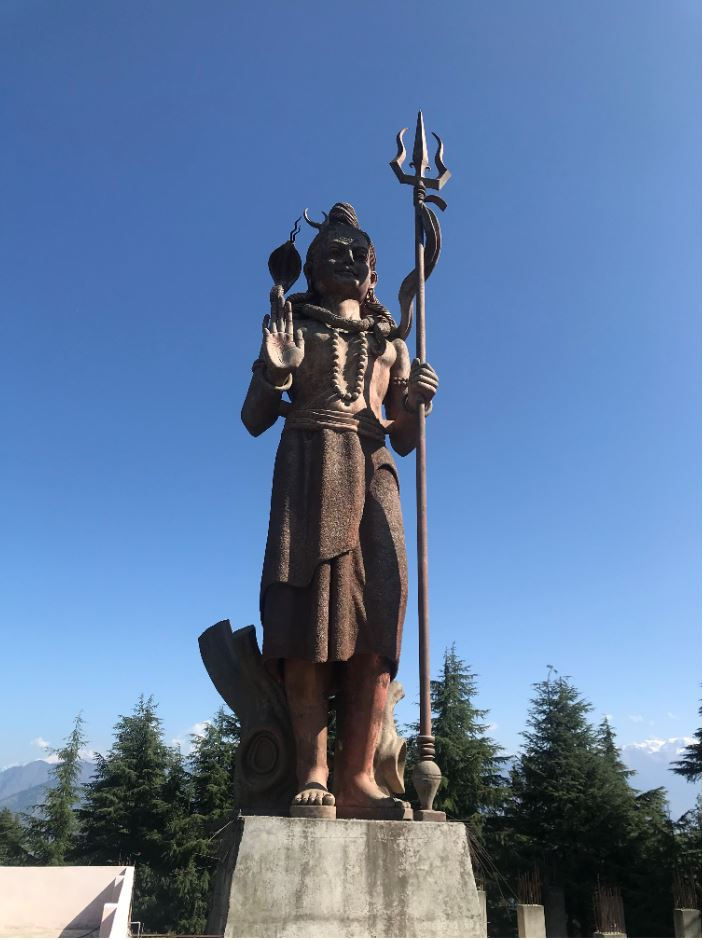 Bronze statue of Shiva in Khajjiar