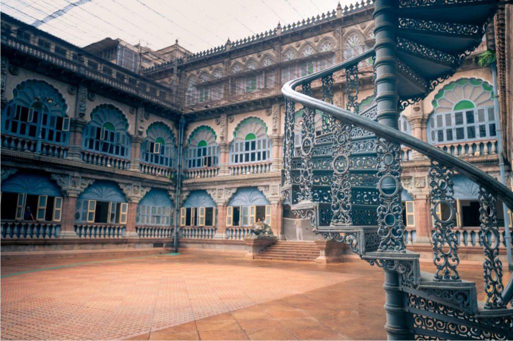 Coutyard inside Mysore Palace