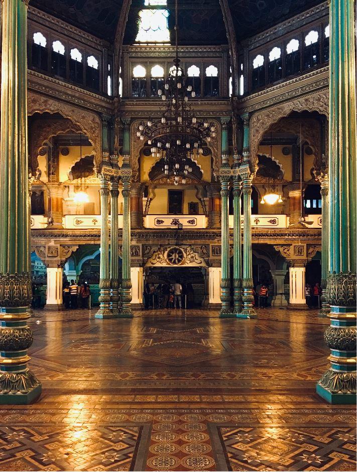 Hall Inside Mysore Palace