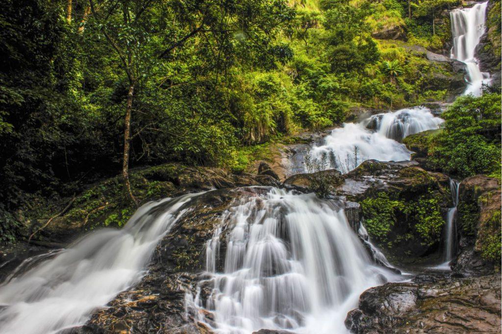 Irupu Waterfalls near Bramhagiri, Coorg