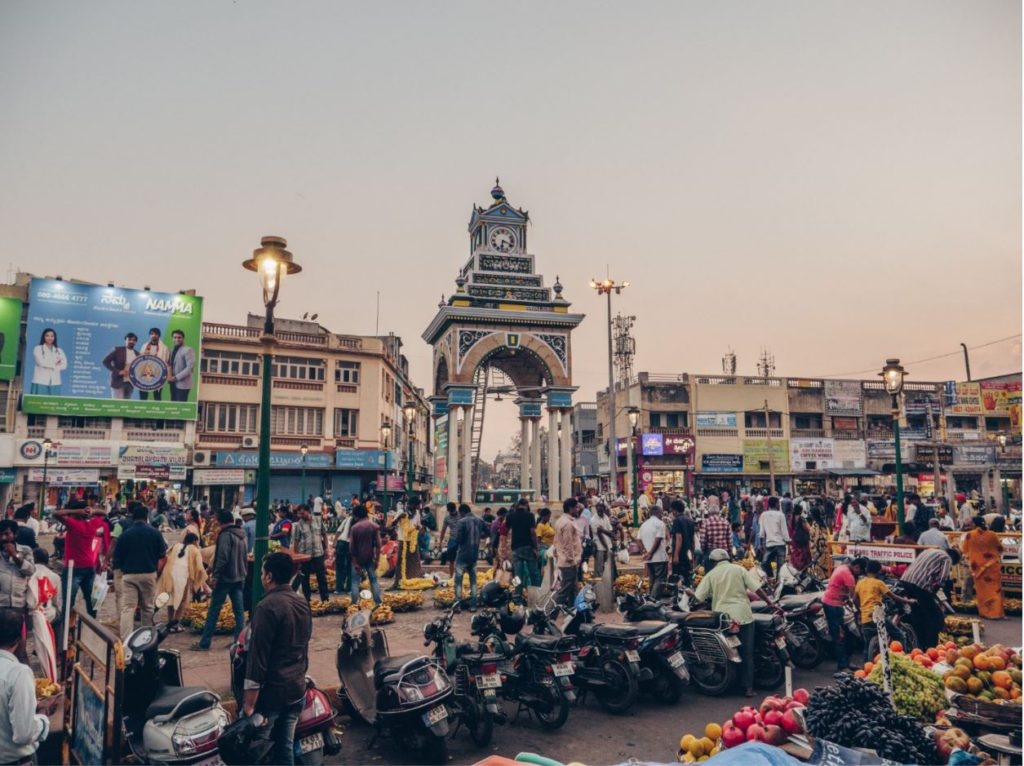 Main Square at Devaraja Market