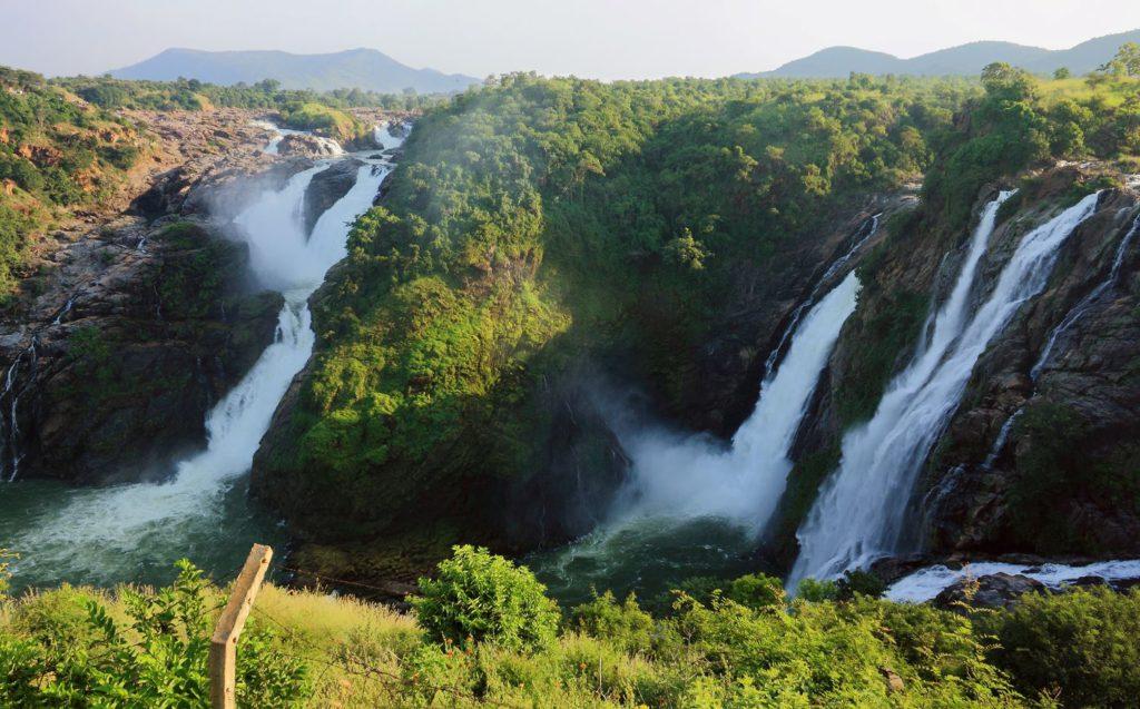 Shivanasamudra Waterfalls, day trip to Mysore
