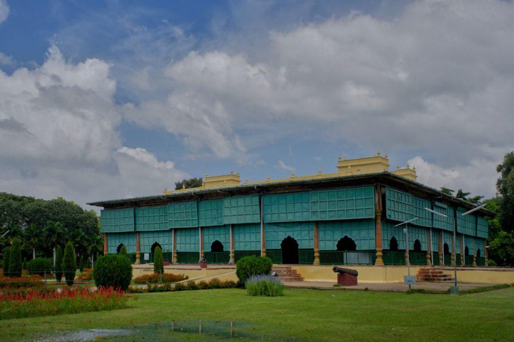 Tipu Sultan's Summer Palace at Srirangapatana