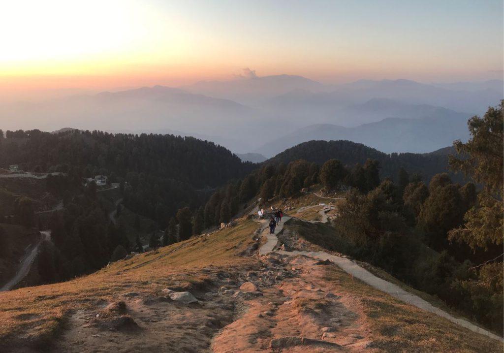 View from Dainkund peak