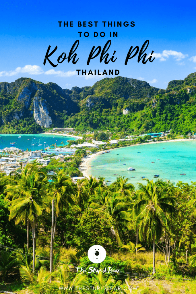 Things to do in koh Phi Phi, Thailand