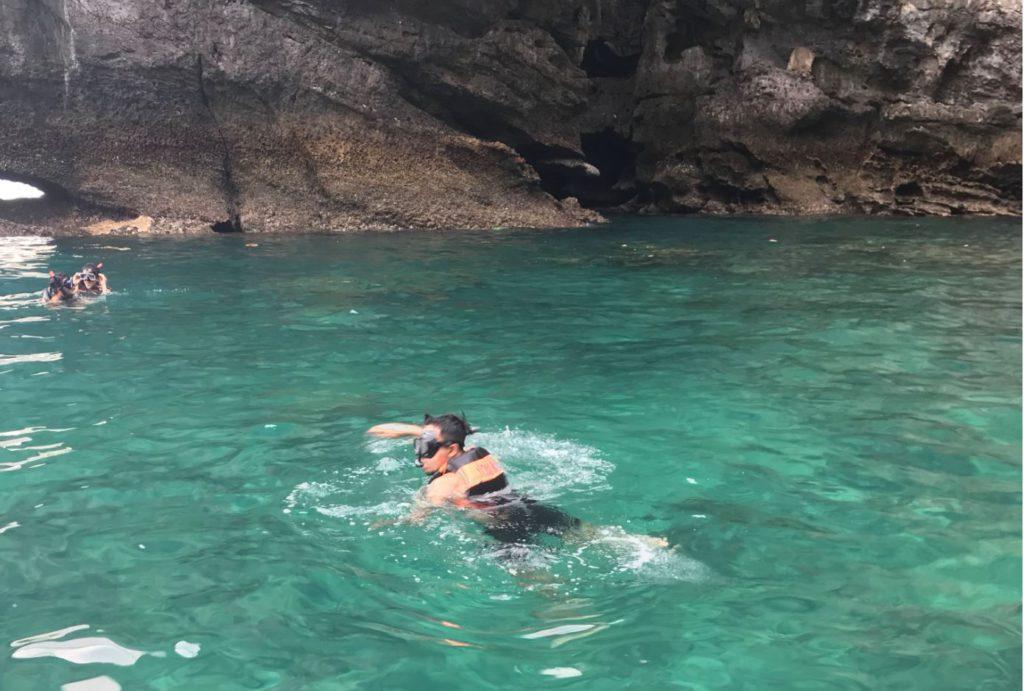 Snorkeling around Ko Phi Phi