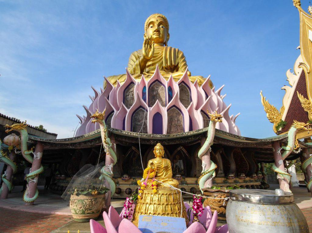 Meditation Area inside Wat Samphran