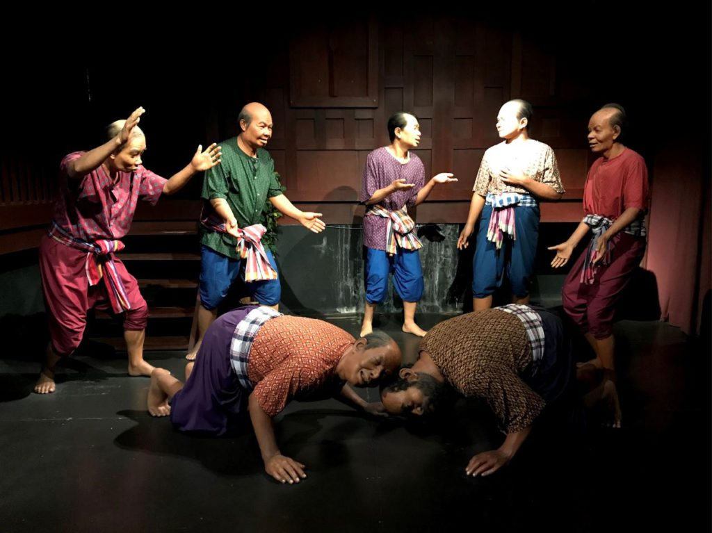 Thai people playing games, Thai Human Imagery Museum