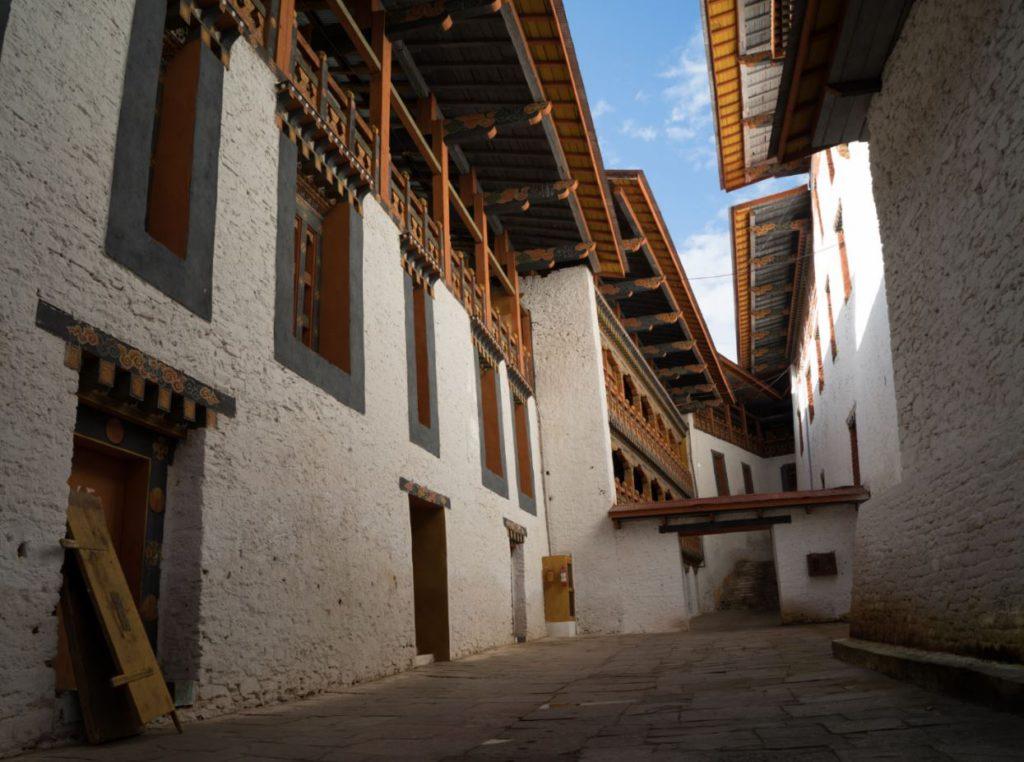 Buildings inside the monastery