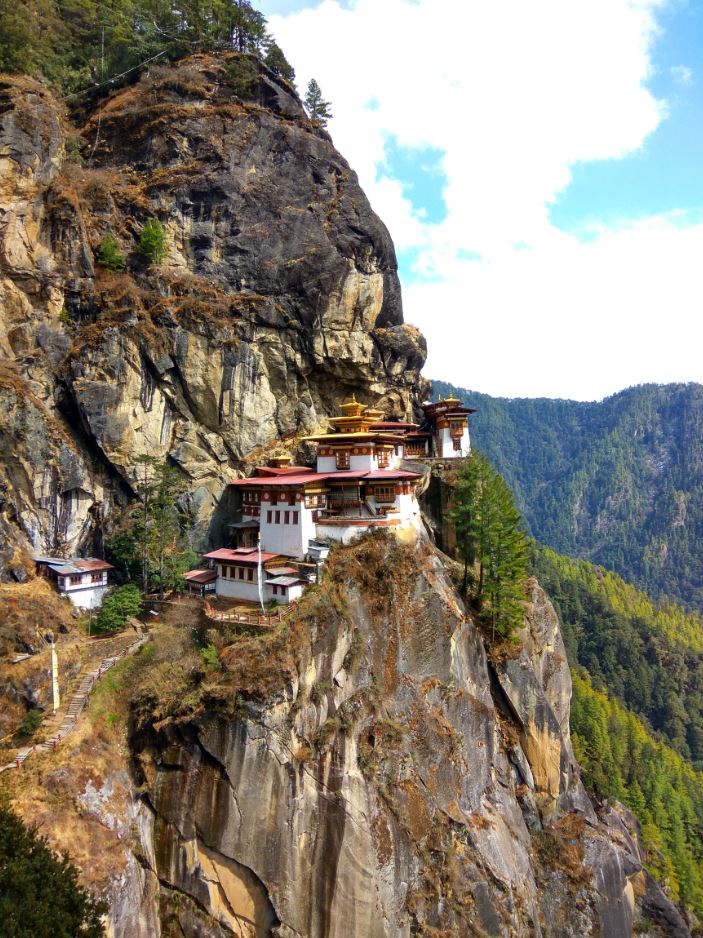 Taksang Monastery from the best viewpoint on the way