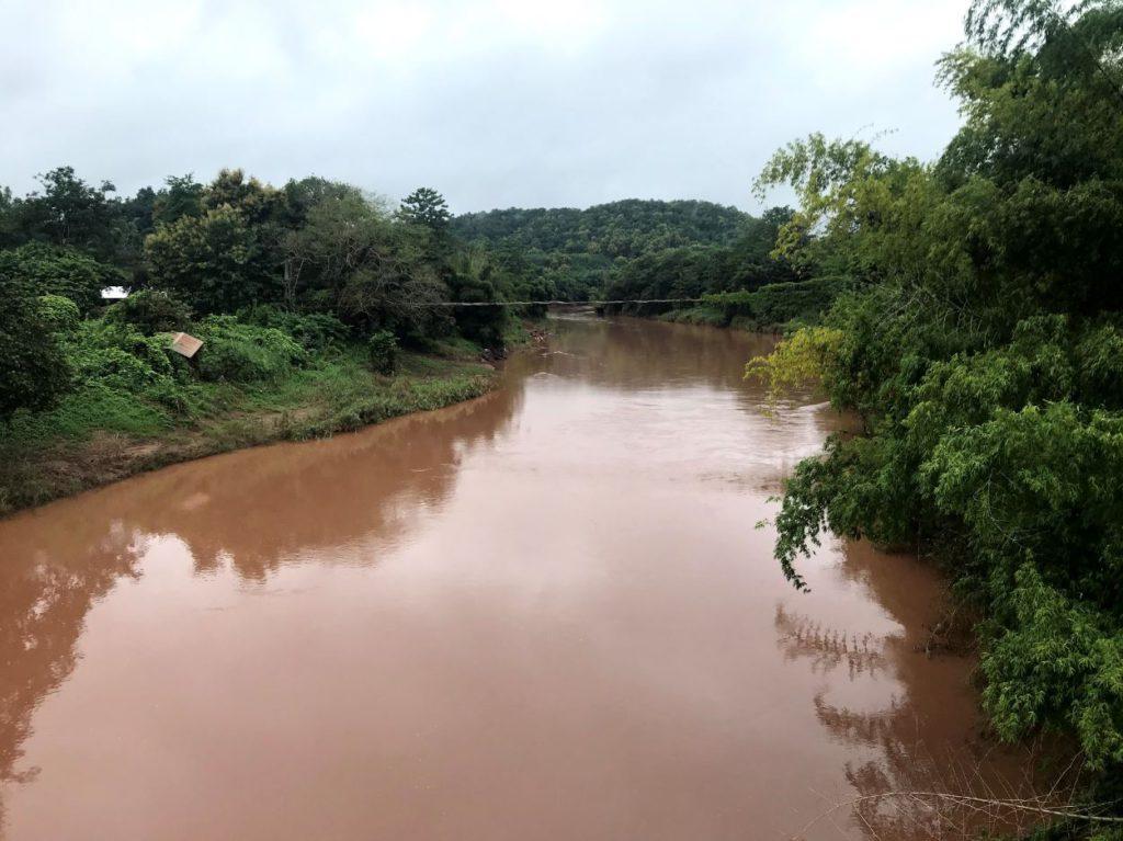 River Nan during the monsoon