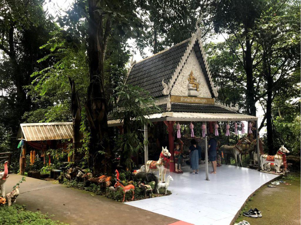 Shrine of Phu Kha on Doi Phu Kha National Park
