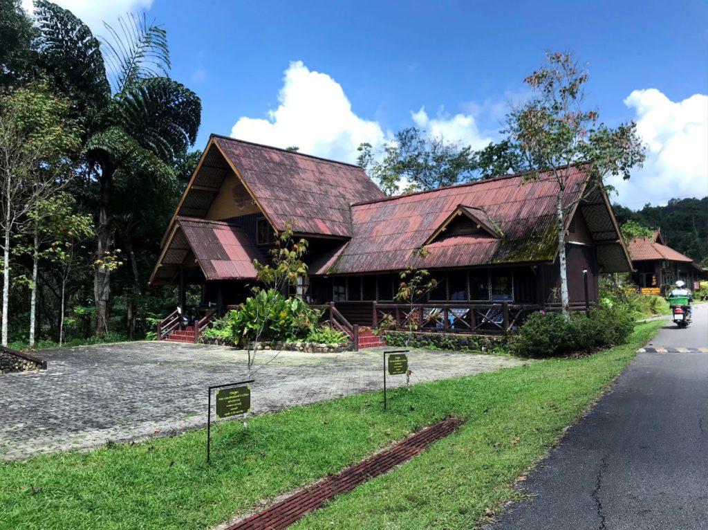 Visitor center at Doi Phu Kha National Park