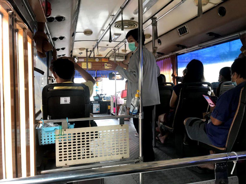 Air conditioned Bus, Bangkok