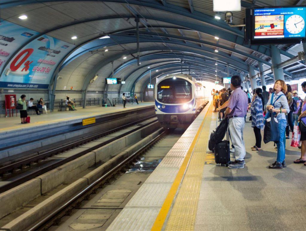 Airport Link, Bangkok, how to travel inside Bangkok